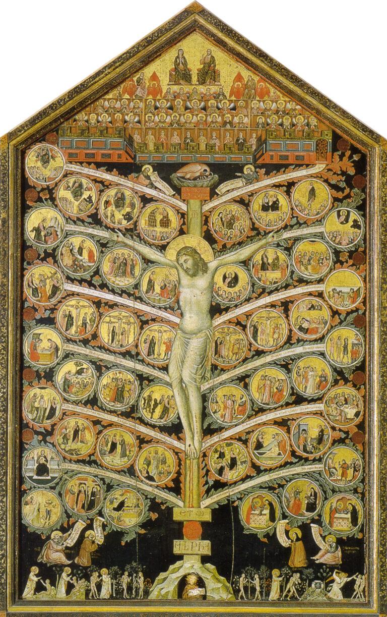 «Дерево жизни» Пачино ди Бонагвида. Галерея Академии Изящных Искусств. Флоренция
