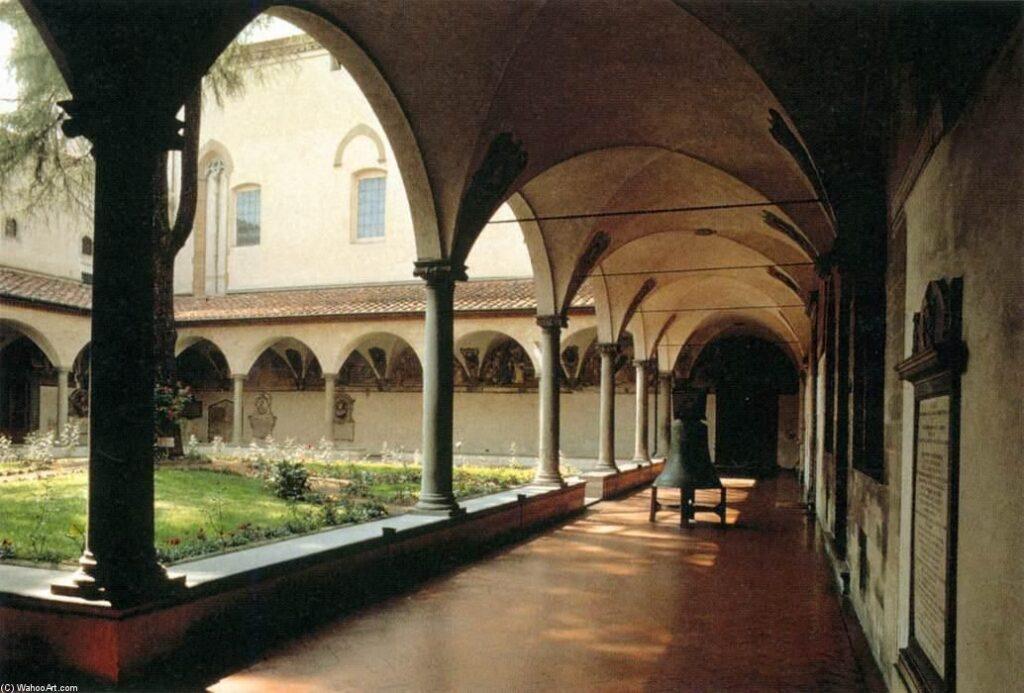 Двор монастыря Святого Марка. Флоренция