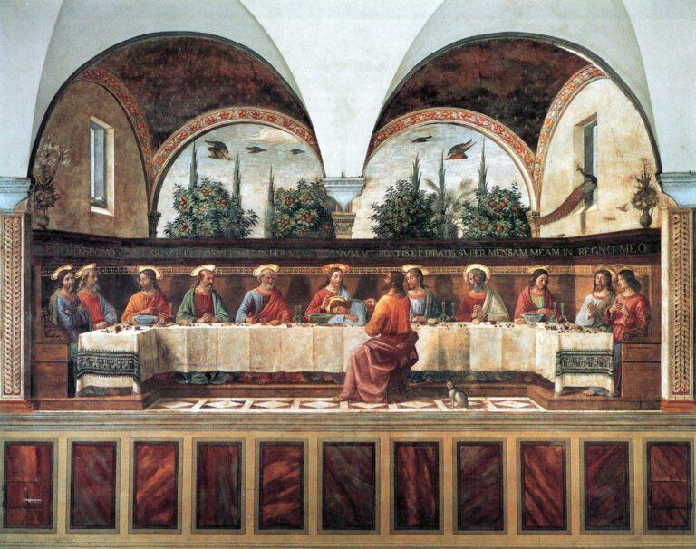 «Тайная вечеря» Доменико Гирландайо. Музей Сан Марко. Флоренция