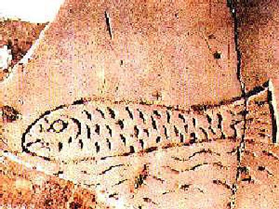 Изображение Иисуса на стенах римских катакомб