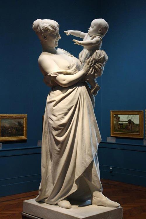 «Мать» Адриано Чечони. Галерея Современного Искусства. Флоренция