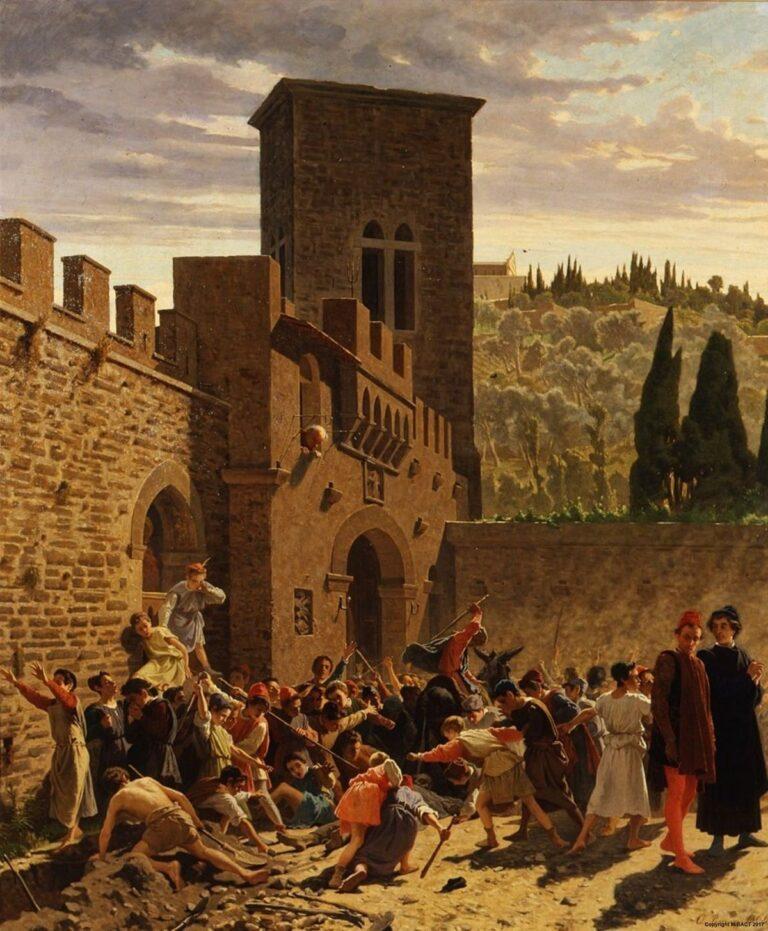 «Средневековая файда» Эдоардо Боррани. Галерея Современного Искусства. Флоренция