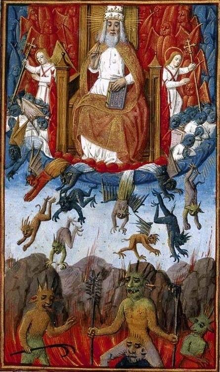 Молебен Карла V. 1525 год. Национальная Библиотека Испании
