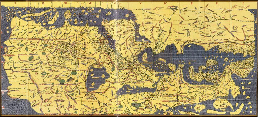 Книга Роджере. Портолан ал-Идриси 1154 год