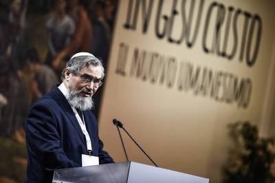 Раввин флорентийской синагоги Джозеф Леви