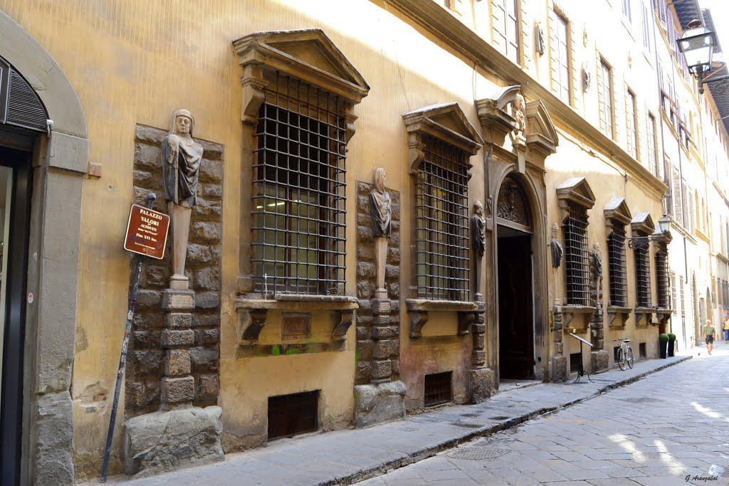 Палаццо Алтавити. Borgo degli Albizi 18 Firenze — штаб-квартира Великой Масонской Ложи Италии.