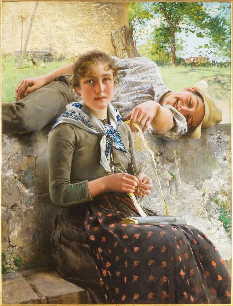 «Стелла и Пьетро» Витторио Коркос. Галерея Современного Искусства. Флоренция