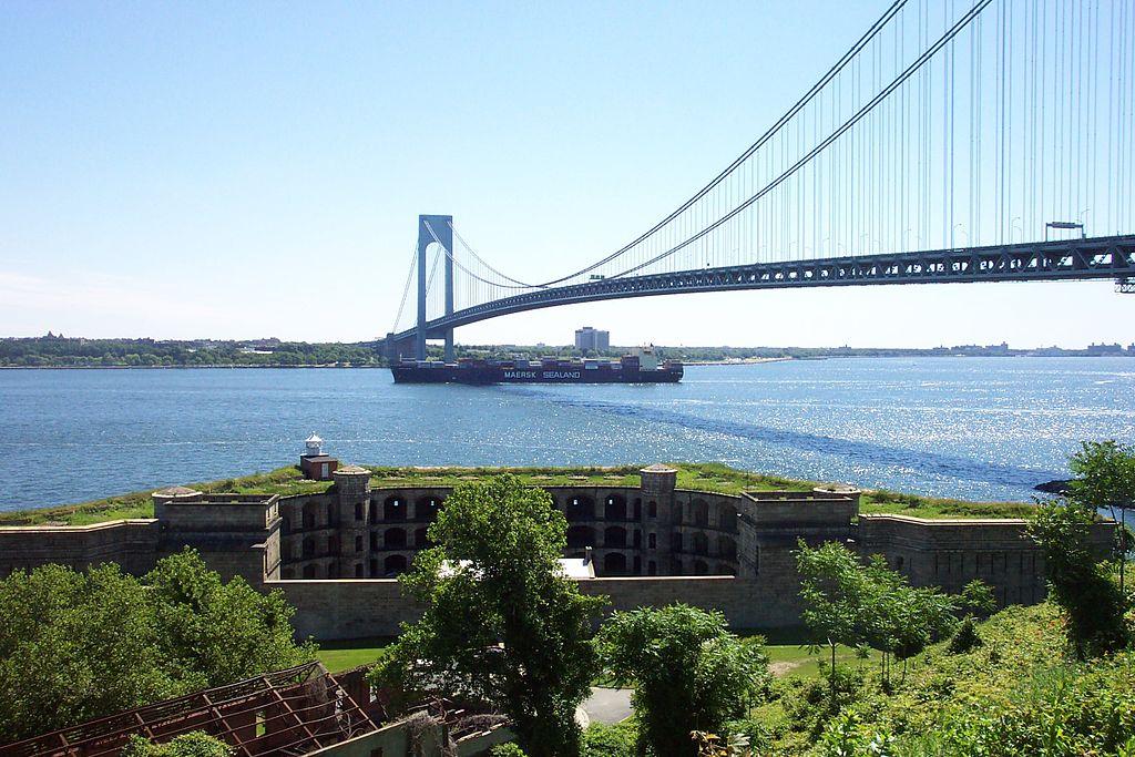 Мост Верраццано в Нью-Йорке
