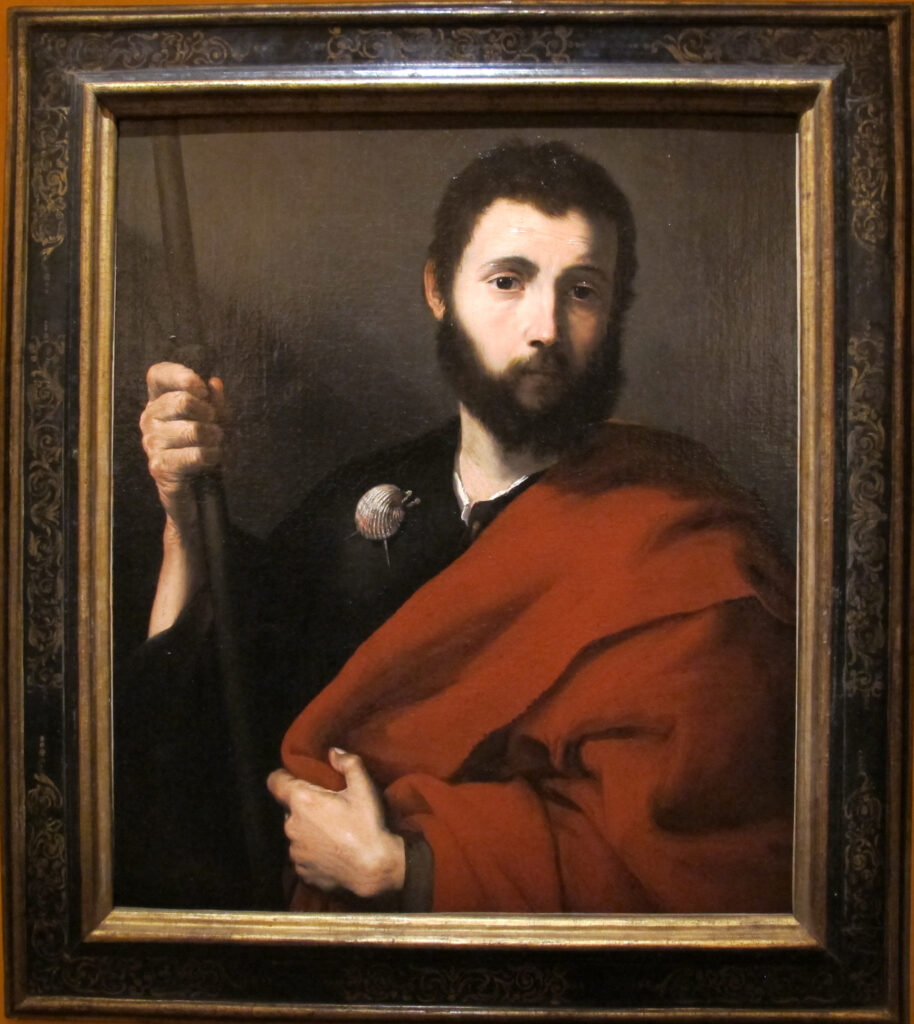 «Апостол Иаков» Джузеппе ди Рибера