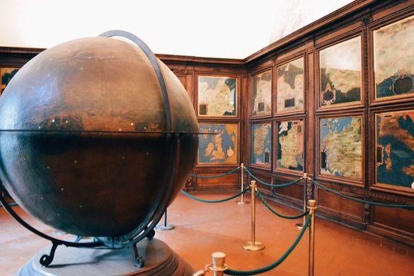 Зал Географических карт. Палаццо Веккио, Флоренция