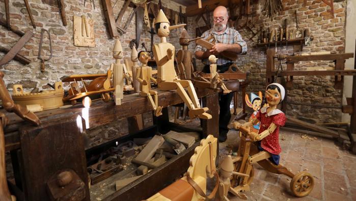 Сегодня во Флоренции живет и работает не один Папа Карло (Джепетто)