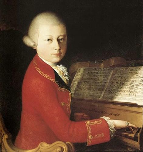 Четырнадцатилетний Вольфганг Амадей Моцарт