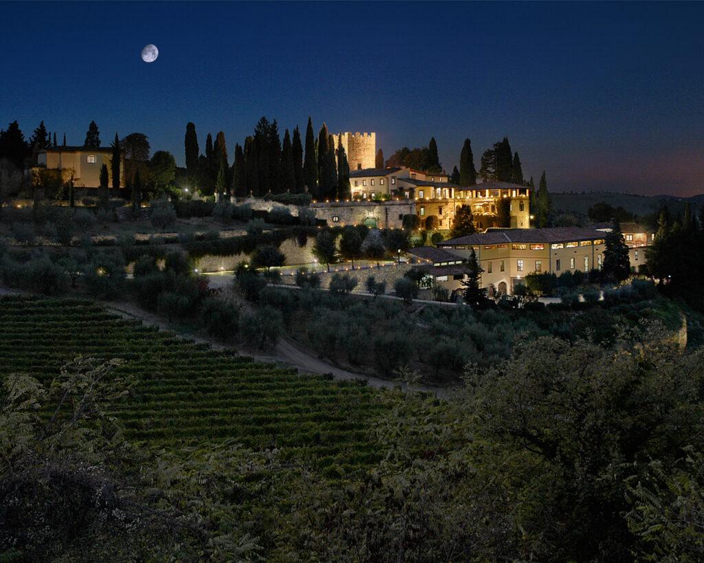 Замок Верраццано около Флоренции