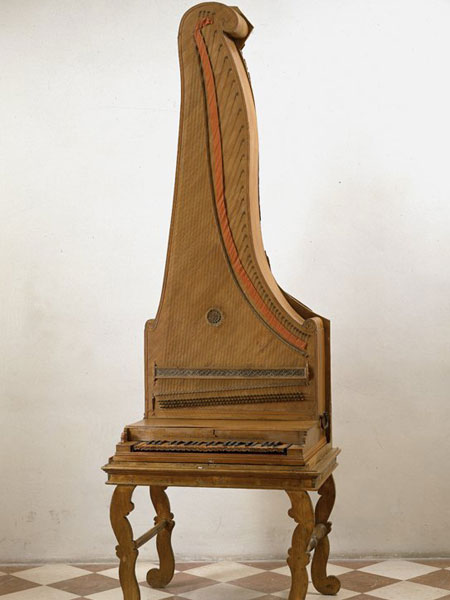 Вертикальное фортепиано. Галерея Академии Изящных Искусств