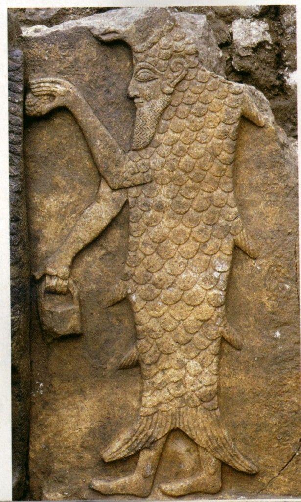 Ассирийский Бог Оанн Лувр