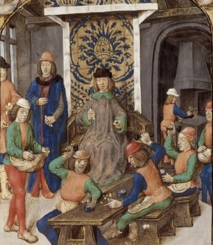Монетный двор средневековья