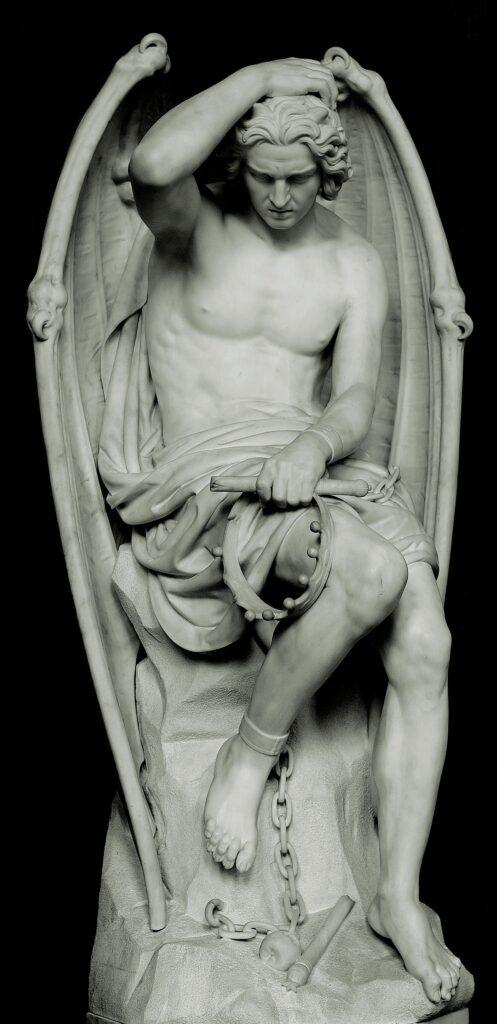 «Люцифер» Йозеф Гефс. 1845 год. Собор Святого Павла, Льеж