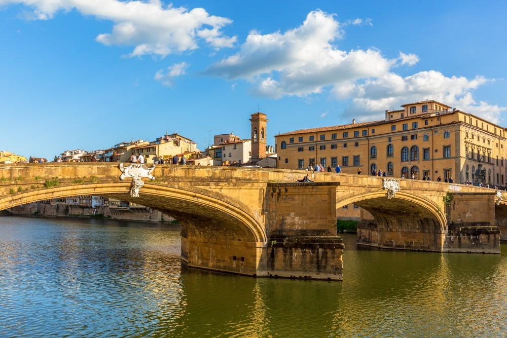 Мост Святой Троицы во Флоренции