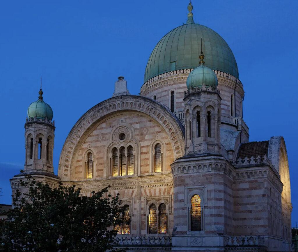 Вечерняя Синагога Флоренции